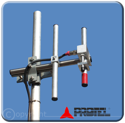 2 Elements Yagi directional 300-600MHz - Protel AntennaKit