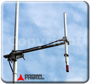 FM 87-108MHz COMPLETE SYSTEM of 4 antennas Dipole Omnidirectional FM 500W -  Protel AntennaKit