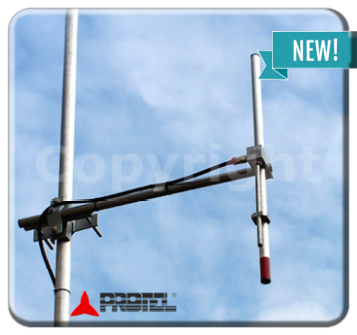 Omni-directional dipole 108-150MHz - Protel AntennaKit