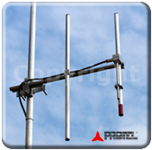 FM systems 1000W 87-108MHz Antenna Directional Yagi Directive 2 Elements Protel