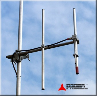 2 elements professional directional DAB antenna - PROTEL