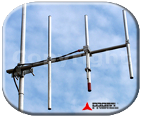 System FM 87-108MHz Yagi Directive Directional 3 Elements Protel
