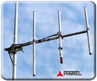 FM systems 87-108MHz Antenna Directional Yagi Directive 3 Elements Protel