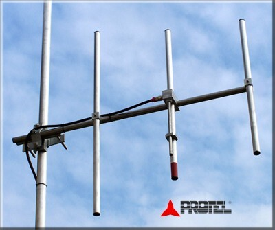 DAB directional antenna 3 elements professional yagi directive - PROTEL