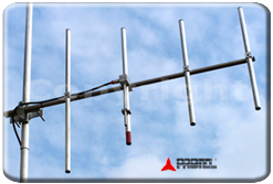 FM systems 1500W 87-108MHz Antenna Yagi Directional 4 Elements Protel