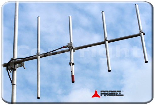 4 elements directional antenna 108 to 150 MHz - Protel AntennaKit