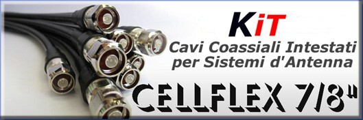 "Cellflex 7/8"" cables headed for antenna systems FM - Protel AntennaKit"